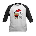 Santa Baby by Vampire Dog Kids Baseball Jersey