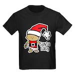 Santa Baby by Vampire Dog Kids Dark T-Shirt