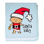Santa Baby by Vampire Dog baby blanket