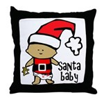 Santa Baby by Vampire Dog Throw Pillow