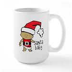 Santa Baby by Vampire Dog Large Mug