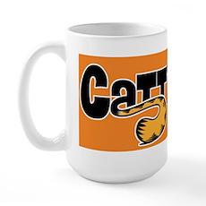 Cattitude Tail Large Mug