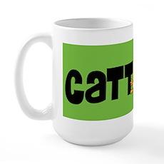 Cattitude Mooning Large Mug
