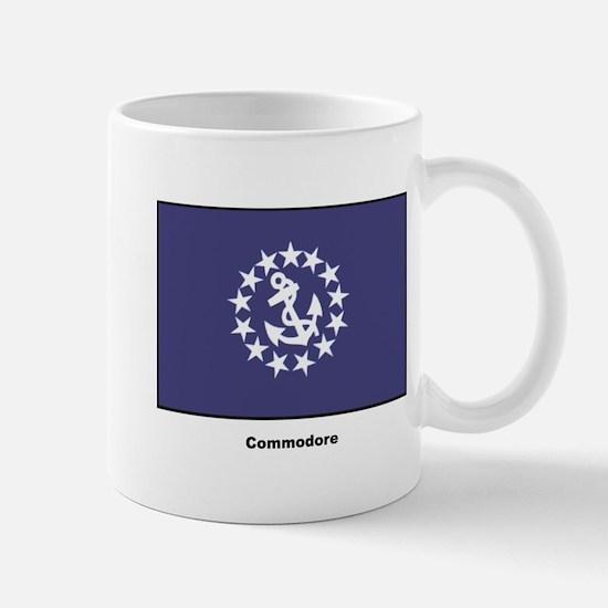 Commodore Flag Mug