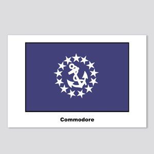 Commodore Flag Postcards (Package of 8)