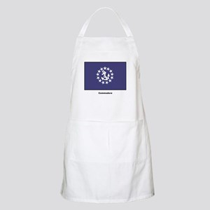 Commodore Flag BBQ Apron