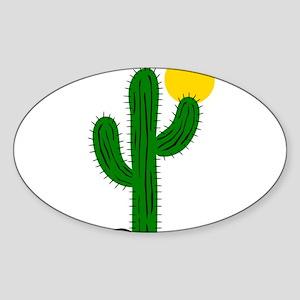 Cactus116 Oval Sticker