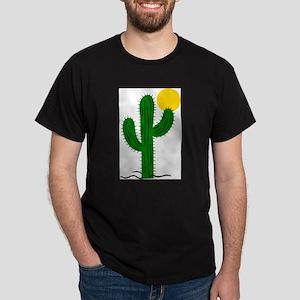 Cactus116 Black T-Shirt