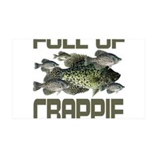 Full of Crappie 38.5 x 24.5 Wall Peel