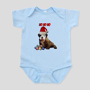 Ho Ho Ho Christmas Puppy Infant Bodysuit