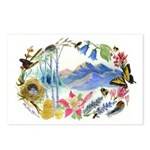 Nature Watercolor Postcards (Package of 8)