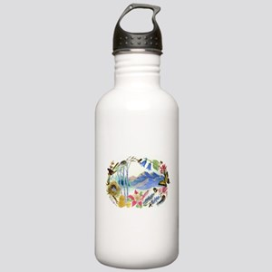 Nature Watercolor Stainless Water Bottle 1.0L