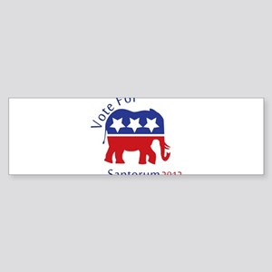 Vote for 2012 Part 2 Sticker (Bumper)