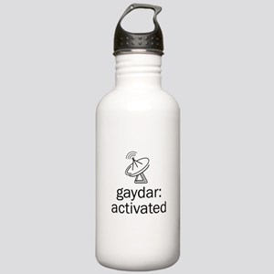 Gaydar Activated Stainless Water Bottle 1.0L