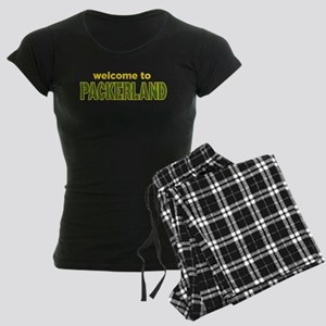 Welcome to Packerland Women's Dark Pajamas