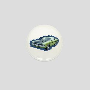 Clasic Cool Car Mini Button