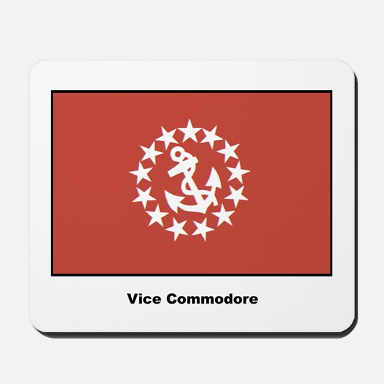 Vice Commodore Flag Mousepad