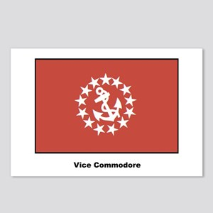 Vice Commodore Flag Postcards (Package of 8)