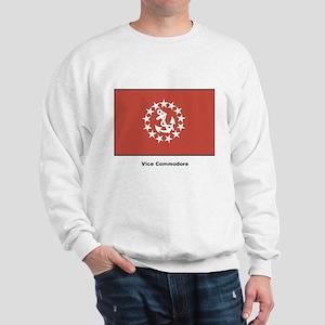 Vice Commodore Flag (Front) Sweatshirt
