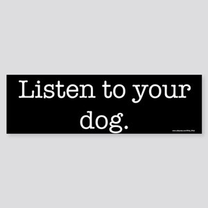 Dog Bumper