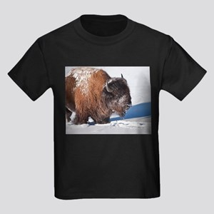 Bison Kids Dark T-Shirt