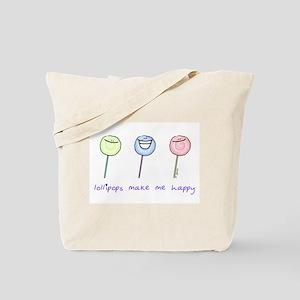 Lollipops Make Me Happy Tote Bag