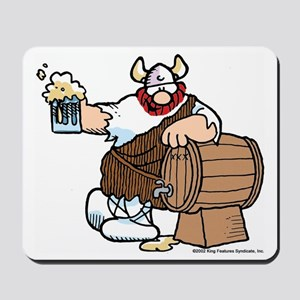 Hagar and Keg Mousepad