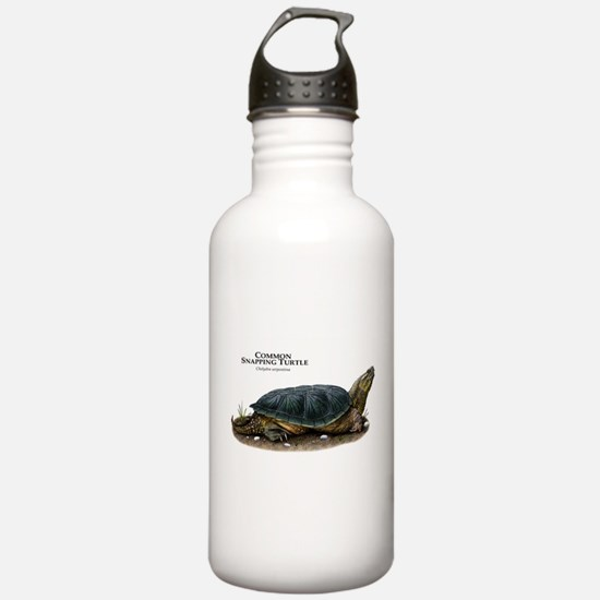 Common Snapping Turtle Water Bottle