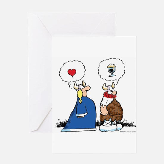 The Way to His Heart... Greeting Card