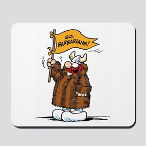 Go Barbarians! Mousepad