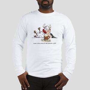 Drinking Class Long Sleeve T-Shirt
