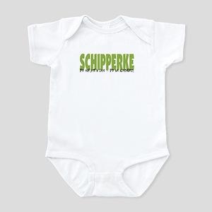Schipperke IT'S AN ADVENTURE Infant Bodysuit