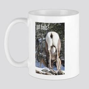 Big Horn Sheep Ram 'Got Balls' Mug