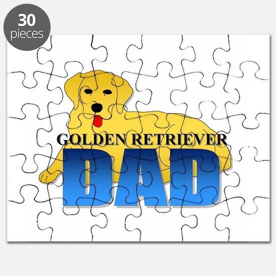 Golden Retriever Dad Puzzle