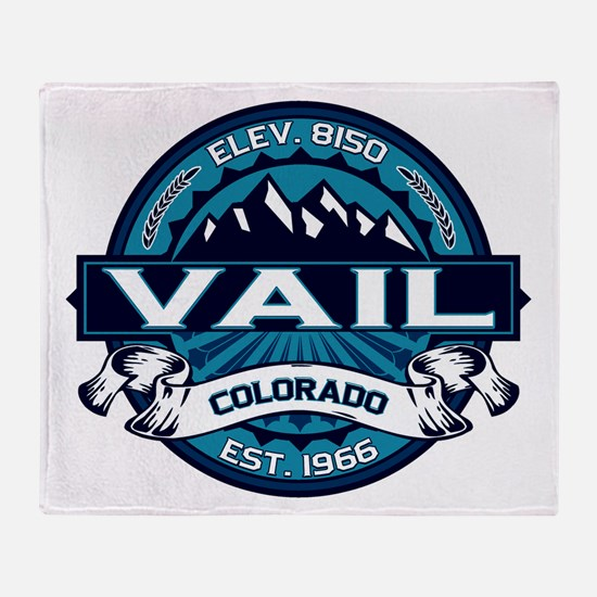 Vail Ice Throw Blanket