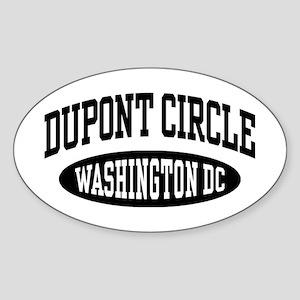 Dupont Circle Washington DC Sticker (Oval)