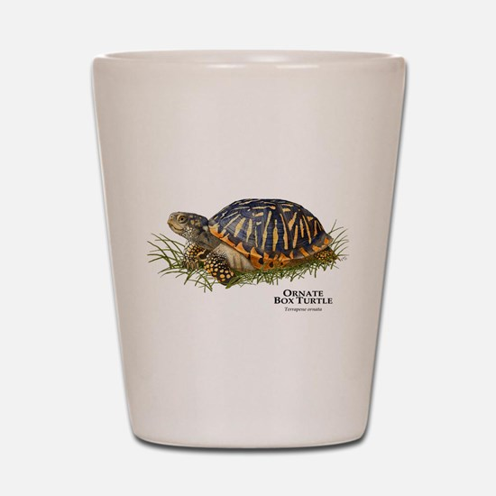 Ornate Box Turtle Shot Glass