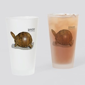 Three-Toed Box Turtle Drinking Glass