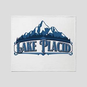Lake Placid Blue Mountain Throw Blanket