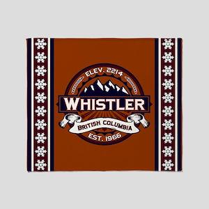 Whistler Vibrant Throw Blanket
