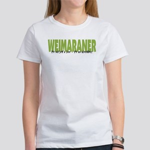 Weimaraner IT'S AN ADVENTURE Women's T-Shirt