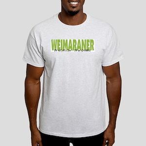 Weimaraner IT'S AN ADVENTURE Light T-Shirt