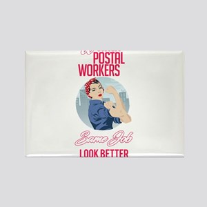 Women Postal Workers Magnets