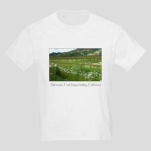 Silverado Trail Napa Valley Kids T-Shirt