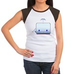 Boxy the Whale Women's Cap Sleeve T-Shirt