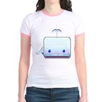 Boxy the Whale Jr. Ringer T-Shirt