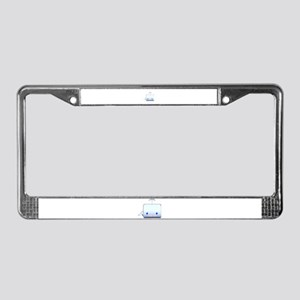 Boxy the Whale License Plate Frame