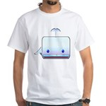 Boxy the Whale White T-Shirt