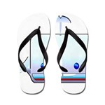 Boxy the Whale Flip Flops