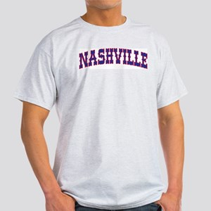 NASHVILLE Ash Grey T-Shirt